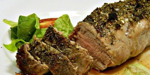 Tuscan Pork Tenderloin