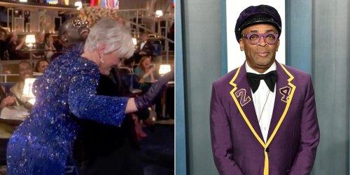 Spike Lee dubs Glenn Close 'my sista' for her 'Da Butt' Oscars dance