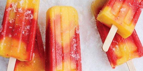 Strawberry-Mango Paletas
