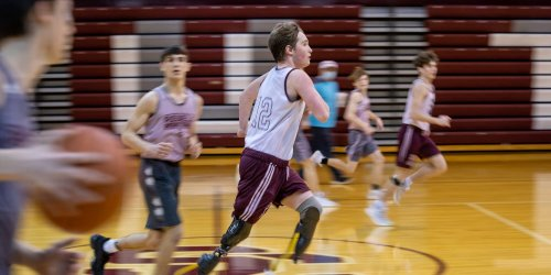Indiana High Schooler, 15, with No Hands and Legs on Proving Himself in Sports: 'Just Watch Me'