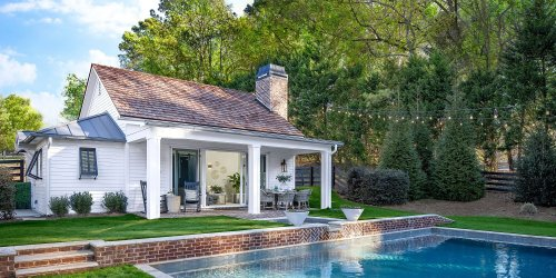 This Charming Pool House Plan Is Perfect for Backyard Entertaining