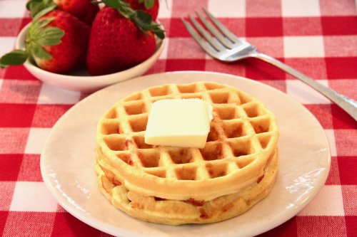 Chaffles with Almond Flour