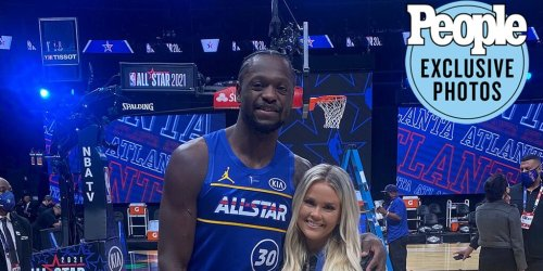 Behind-the-Scenes of Julius Randle's 2021 NBA All-Star Game Weekend with His Wife and Family