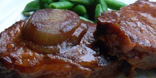 Slow Cooker BBQ Pork Chops