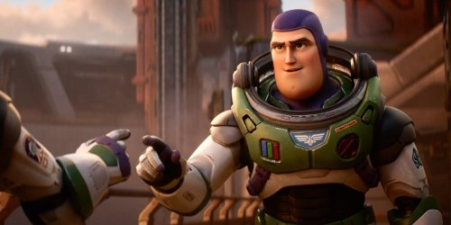 Chris Evans goes to infinity and beyond in Pixar's 'Lightyear' trailer