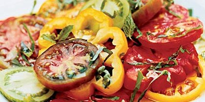 Marinated Heirloom Tomato Salad Recipe