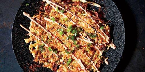 Cabbage Okonomiyaki (Pancakes) Recipe