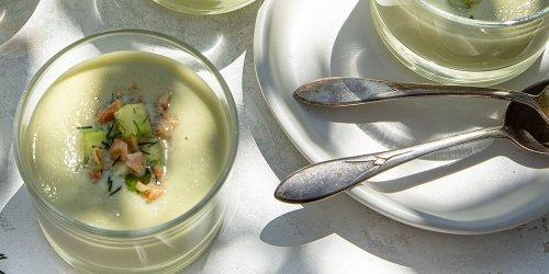 Herby White Gazpacho