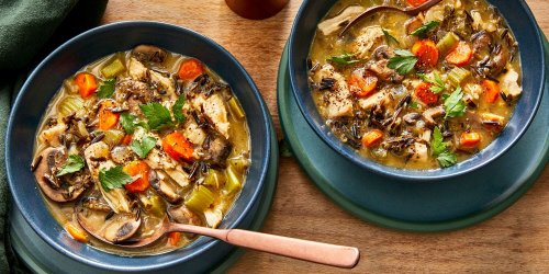 This Leftover Turkey Rice Soup Makes the Day After Thanksgiving Just as Tasty as the Feast