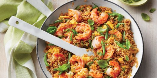 This Better-Than-Takeout Shrimp Fried Rice Is the Easiest Thing You'll Make All Week