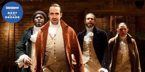 Best of the Decade: Lin-Manuel Miranda on making history with 'Hamilton'