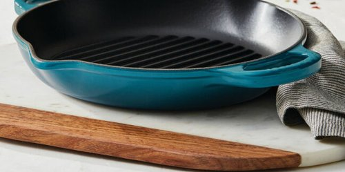 This Le Creuset Cast Iron Grill Is at Its Lowest Price Ever on Amazon Right Now