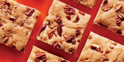 Brown Butter-Maple-Pecan Blondies Recipe | Southern Living