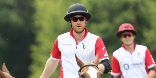Prince Harry Made a Surprise Appearance at a Charity Polo Match