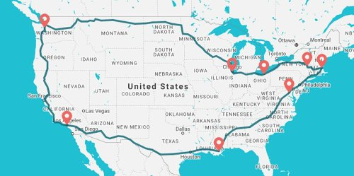 For Just $1,000, You Can See Every Corner of the U.S. Thanks to This Affordable Cross-Country Train Journey