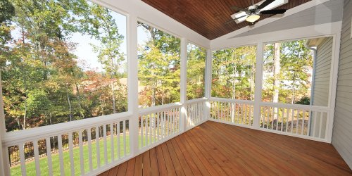 How to Build Screened-In Porch