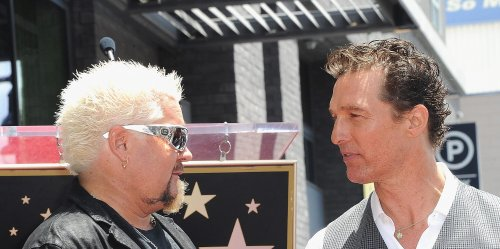 Matthew McConaughey Asks Guy Fieri to Share the Best Advice He Got From His Dad - and It's from Kenny Rogers