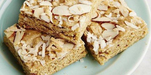 Coconut-Almond Whole-Grain Blondies