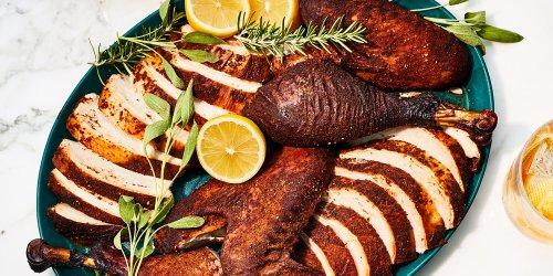 Spatchcocked Smoked Turkey Recipe