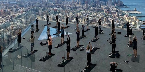 You Can Do Yoga Outdoors on the Highest Observation Deck in the Western Hemisphere