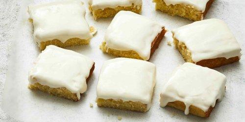 Cakey Lemon Brownies Recipe