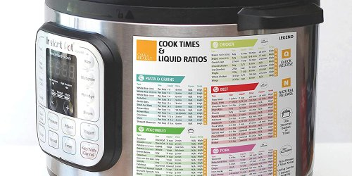 This Multicooker Cheat Sheet 'Makes It Easier to Use the Instant Pot'-and It's Just $11