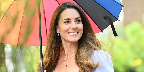 Kate Middleton Wears Necklace with George, Charlotte and Louis' Initials to Announce New Big Project