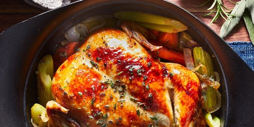 Hear Me Out: Whole Roasted Chicken Is the Ultimate Weeknight Dinner When You're Working From Home
