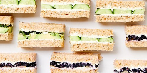 Surprise Mom with a Rainbow of Tea Sandwiches This Mother's Day