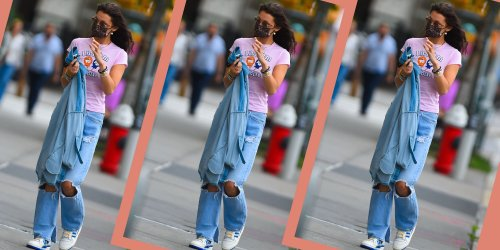 Supermodels Are Bringing Back This Popular Sneaker From the '80s, and It's Selling Out Fast