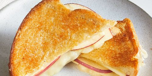 Parm-Crusted Grilled Cheese