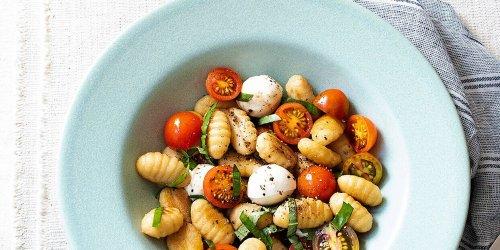 Cauliflower Gnocchi Caprese