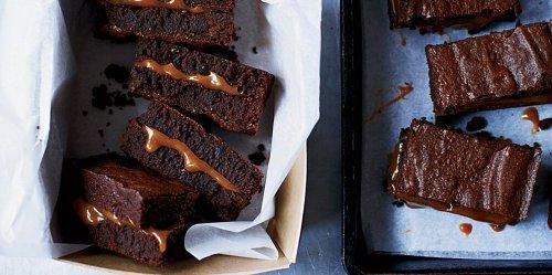 Cannabis-Infused Salted Caramel Fudge Brownies