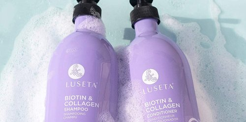 Shoppers Can't Believe How Fast Their Hair Grew With This Biotin and Collagen-Infused Shampoo and Conditioner Set