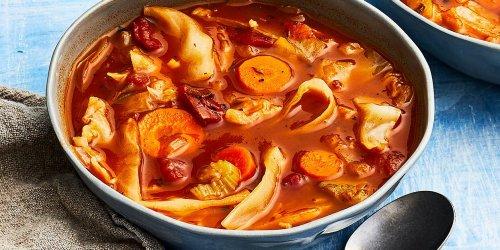 Instant-Pot Cabbage Soup