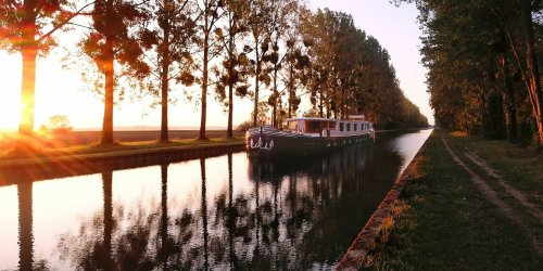 Enjoy Wine, Castles, and the French Countryside on a Canal Cruise Through Burgundy