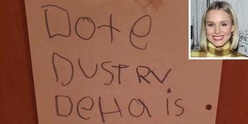 Kristen Bell Jokes Daughter Delta Leaves 'Threatening Notes' Around the Home: 'My Kid Can Speak Her Mind'