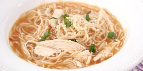 Turn Up the Heat With Our Sriracha Chicken Noodle Soup