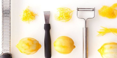 Three Ways to Zest a Lemon (and Other Citrus Fruits) Without a Zester
