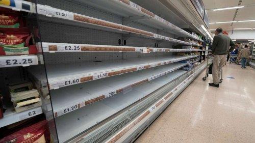 Großbritannien: CO2-Krise kann zu Versorgungsproblemen führen