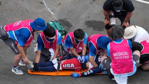 Schlimmste Szene der Olympischen Spiele? Horror-Sturz, Gehirnblutung, Intensivstation