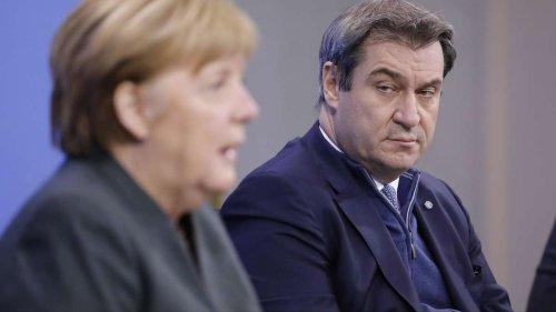 Nach Söder-Druck: Merkel verschiebt Corona-Gipfel - schon bald neue Regeln in Deutschland?