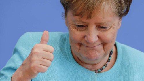 Skurriler Moment bei Merkels Abschieds-PK: CDU-Verhaspler lässt Raum für Deutungen