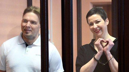 Verurteilung von Kolesnikowa und Snak löst breites Entsetzen aus