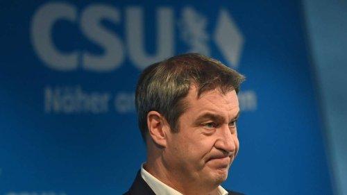 Bundestagswahl 2021: Hochrechnungen - CSU-Debakel für Markus Söder