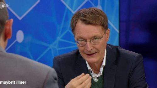 """Corona-Streit bei """"Illner"""": Liefers und Virologe Stöhr bestürmen Lauterbach"""