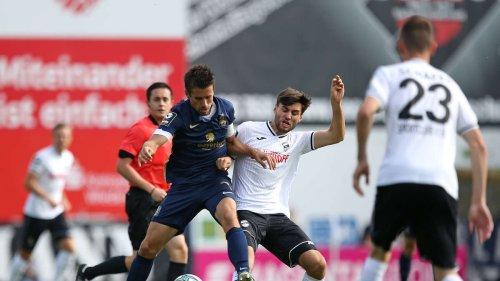 TSV 1860 - SC Verl JETZT im Live-Ticker: Geniestreich! Hacken-Tor sorgt für Jubel