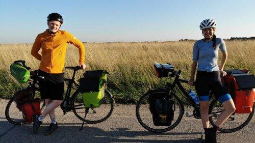 Bis ans Schwarze Meer: Diese beiden Freisinger radeln 3500 Kilometer - und wollen dabei Bäume pflanzen