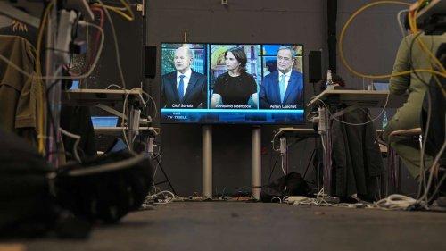 TV-Triell: Laschet verpatzt den Auftakt - und kassiert Spott von SPD und Grünen