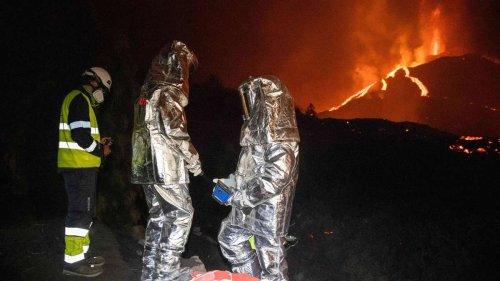 Vulkanausbruch auf La Palma: Neuer Lavastrom an der Nordflanke - Flugverkehr massiv gestört